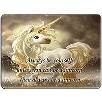 Unicorn Be Yourself HB1090マウスマットパッド-マウスパッドマウスパッド