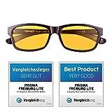 PRiSMA Blaulichtfilter-Brille FREiBURG - Blueblocker-Brille - Anti-Blaulicht - Computerbrille - Gamer Brille - bluelightprotect LiTE - F704