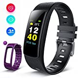 Fitness Tracker con Display a Colori, iWOWNFit i6HRC Orologio Fitness:...