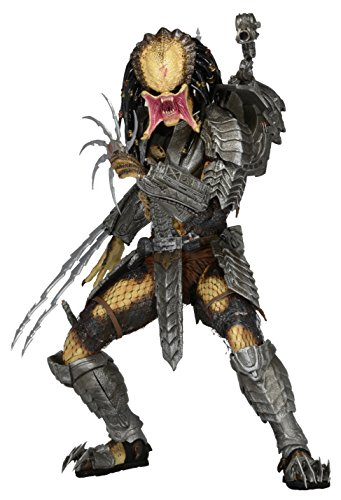 NECA Predator 7' Scale Action Figure Series 14 Scar (Unmasked) Action Figure