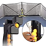 Stoge Ping Pong Robot Machine with Catch Net,Automatic Table Tennis Trainer Table Tennis Robots Ball Machine...
