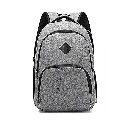 YhomeY Laptop Backpack 16 Inch with USB Charging port Anti Theft Travel Water Resistant College School Computer Rucksack for Mens Womens Work Backpack,Gray,16 inch