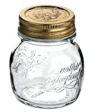 Stock photo of an Italian jelly jar.