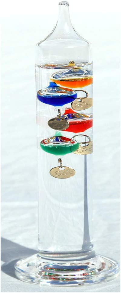 Thorness 18cm Tall Super special price Free Galileo Thermometer Standing Sales results No. 1