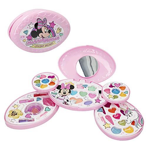 Disney Valigia Mouse Minnie Set nios 5 aos Trolley Trucco Bambini Pintauas Nias Manicura Giocattolo (77199)