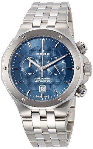 [エドックス] 腕時計 10110-3M-BUIN 正規輸入品 シルバー