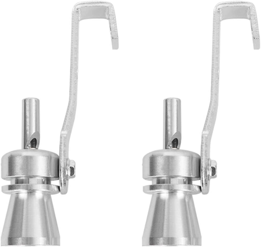 BESPORTBLE 2PCS Sound Super popular specialty store Whistle Exhaust Tailpipe Off Pipe Blow- Kansas City Mall Va
