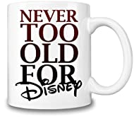 INCREDIBLE, STRIKING DESIGN: This top notch coffee mug features a great Disney themed slogan that is incomparably impressive. TOP QUALITY, DURABLE CONSTRUCTION: The Disney mug is ceramic and its premium quality construction is hard to break A MUST HA...