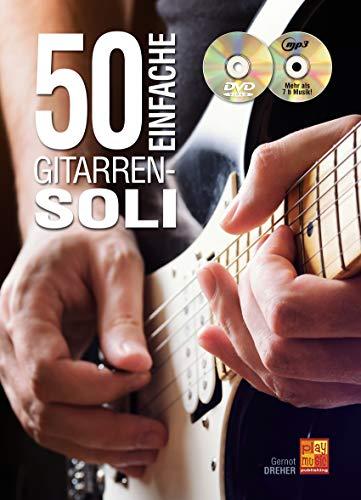 50 Einfache Gitarren-Soli (1 Buch + 1 CD + 1 DVD)