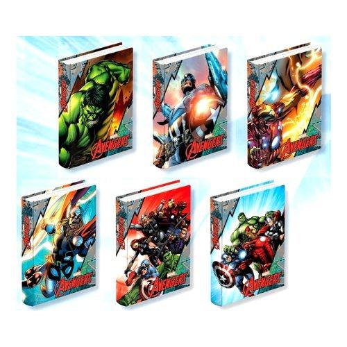 JOURNAL, Agenda école The Avengers Marvel nouveauté 2016/2017 20.5 x 15 cm non daté