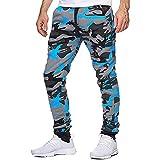 GAOA - Pantaloni tattici da uomo, in morbida conchiglia, impermeabili, con tasche multiple
