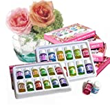 TOSSPER 12 Botellas/Set Fragancia 3ML Natural del Aroma de aceites Esenciales para aromaterapia...