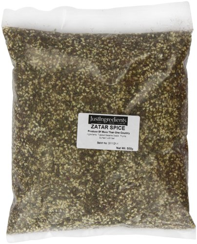 JustIngredients Essential Especias Zatar, paquete de 2 x 500 gr