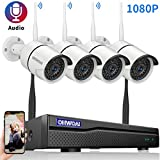 OHWOAI Home Security Camera System Wireless