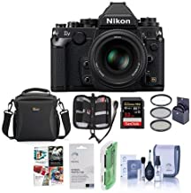 Nikon DF FX-Format Digital SLR Camera USA BUNDLE w/Accessory Value Kit #1527 A
