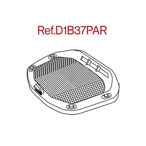 Shad D1B37PAR Platina/Parrilla Universal para Baúl Sh37, Negro
