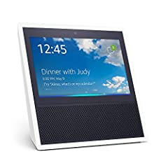 Echo Show brings you everything you love about Alexa, and now she can show you things. Watch video flash briefings, Amazon Video content, see music lyrics, security cameras, photos, weather forecasts, to-do and shopping lists, browse and listen to Au...
