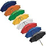 8x Automatik-Regenschirm / 8 verschiedene Farben / GROSSPACK-REGENSCHIRME -