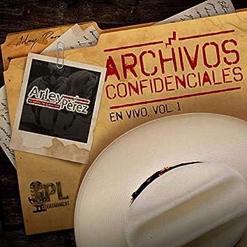 Archivos Confidenciales (En Vivo) Vol. 1