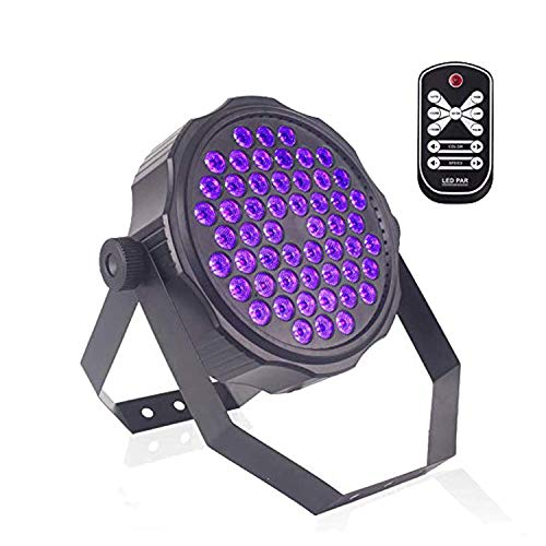 Top-Uking 36 W UV Black Lights LED Stage Lights Bar Light with Remote Control for Party Stage Childrens Birthday Parties 18W Bar Christmas Room