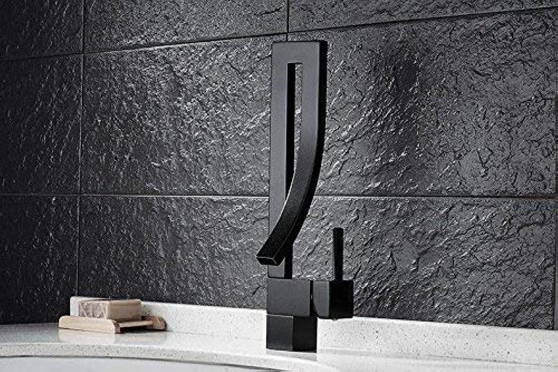 XINSU Home Waschbecken-Mischbatterie Badezimmer-Küche-Becken-Hahn auslaufsicher Save Water Sink Warmes und kaltes einzelnes Loch