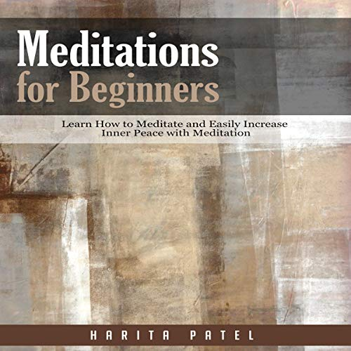 Meditations for Beginners audiobook cover art