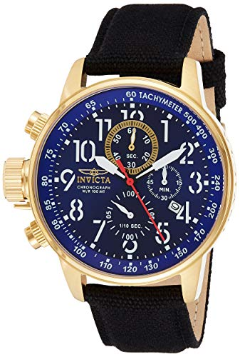 Invicta 1516 I-Force Reloj para Hombre acero inoxidable Cuarzo Esfera azul