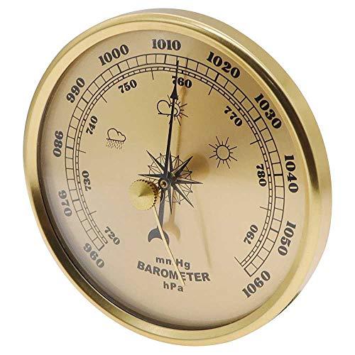 CLCTOIK Barómetro Higrómetro Termómetro Estación meteorológica Multifuncional para el hogar Barómetro aneroide