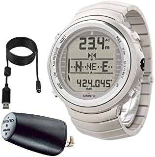 Suunto D9TX with Transmitter and USB Diving Instruments Designer Watches - Titanium/One Size Fits