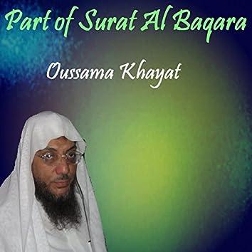 Part of Surat Al Baqara (Quran)