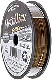 Soft Flex Best Beading Wire Antique Brass .019 Inch - 30 Feet