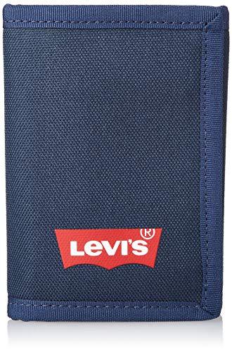 Levi's Batwing Trifold Wallet, Accesorio de Viaje- Billetera