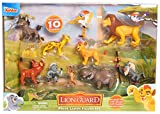 Lion Guard 10-Piece Deluxe Figure Pack, Multi-Color