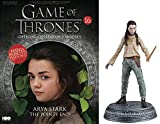 HBO - Figura de Resina Juego de Tronos. Game of Thrones Collection Nº 16 Arya Stark...