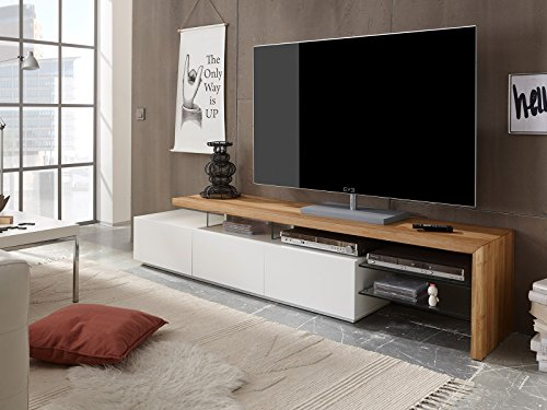 TV-Lowboard Fernsehschrank Longboard Hifi Rack Unterschrank