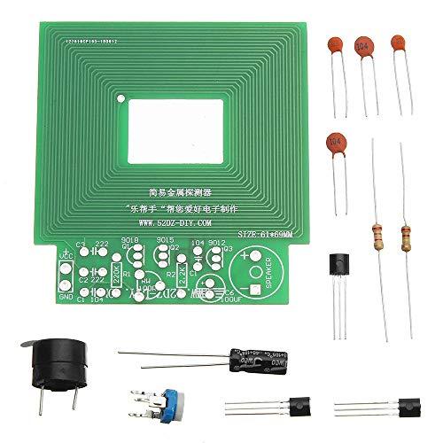 HU ZHANG Sensor-Kit Elektronische Metallsensormodul Kit 10 stücke DIY Einfache Metalldetektor Metall Locator DC 3 V-5 V hohe Qualität