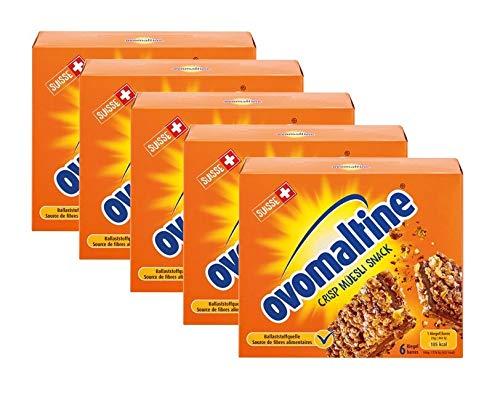Snack al muesli croccante Ovaltine, 5x 150g (30x25g)