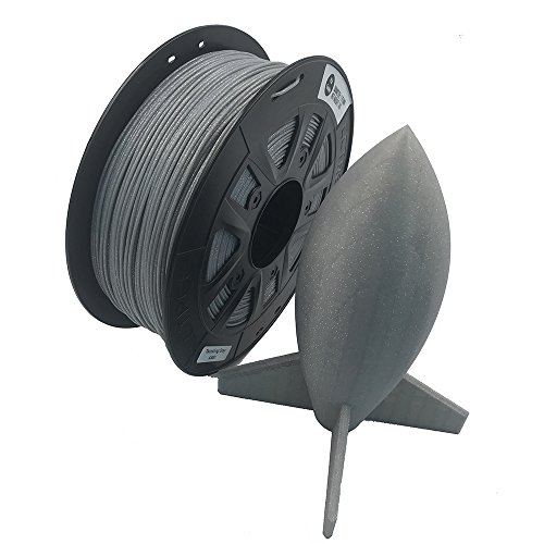 CCTREE 3D Printer PLA ST-PLA 2.2lbs High Rigidity Creality CR-10S Ender 3 Pro S5 Accuracy +//- 0.03mm 1kg Spool Black