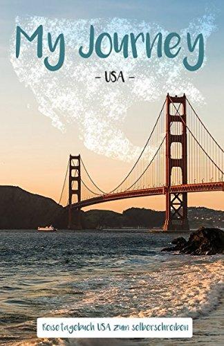Preisvergleich Produktbild My Journey USA: Reisetagebuch USA zum selberschreiben