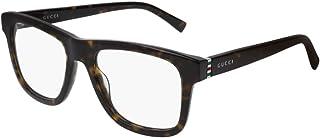 51d9fa6c10 Gucci - Montura de gafas - para hombre Beige Havana Talla única