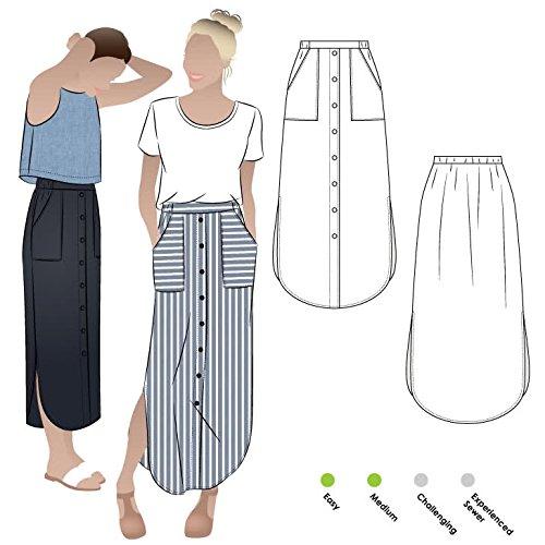 Style Arc naaipatroon - Indigo Maxi Rok Sizes 04-16
