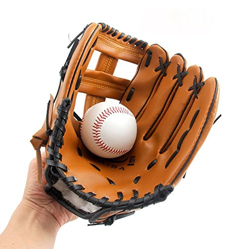 Le traditionnel gant de baseball