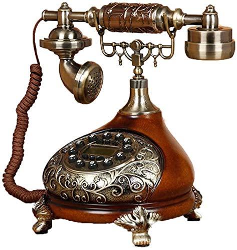 CMMWA Oficina Teléfono Fijo Teléfono Retro Vintage, Llave de Silicona Teléfono Antiguo Creativo Simple Home Sala de Estar Oficina Decoración del teléfono Fijo