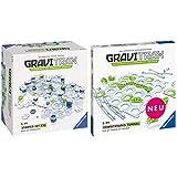 GraviTrax 27615 Starter Set XXL Konstruktionsspielzeug, mehrfarbig & 27614 Tunnel Spielzeug, bunt