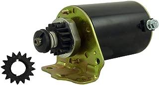 New Starter w Free Gear Briggs & Straton Engines in Cub Cadet 1015 1020 1105 1110 1180 1212 1225 282 283 12.5hp 15hp 16hp John Deere LIT1018 LT1022 LT1024 111 Toro 11-32 110-4 112-6 215-5 8-25 LT10