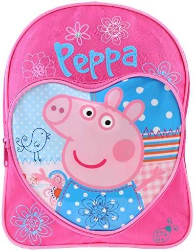 Backpack Love Heart Children's Rucksack Junior School Bag Pink Blue