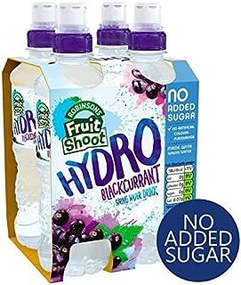 Robinsons Fruit Shoot Hydro Blackcurrant No Added Sugar - 4 x 350ml (47.34fl oz)