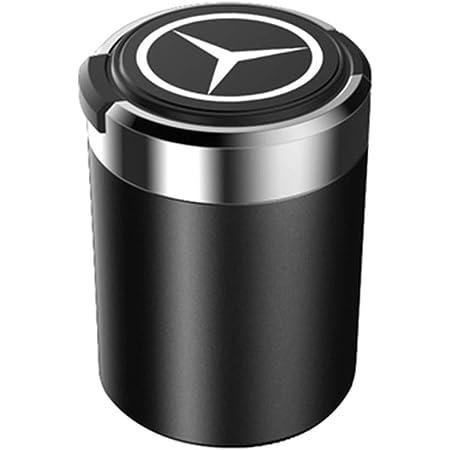 6p6 Mercedes Benz E Klasse C Klasse S Klasse A Klasse B Klasse Glc Gla Gls Auto Aschenbecher Aus Metall Mit Abdeckung Für Led Licht Schwarz Küche Haushalt