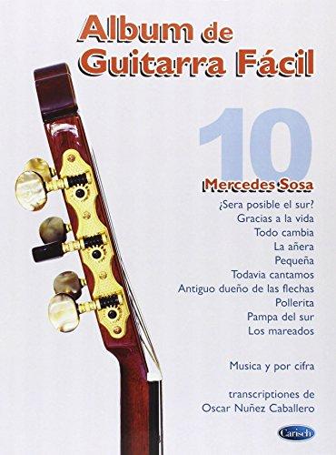 Album de Guitarra Facil N.10 - Mercedes Sosa