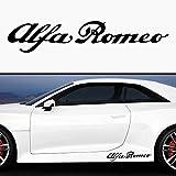 2 x Racing stickers aLFA rOMEO cuore sportivo 35 cm (plusieurs autocollants pour tuning auto decal moto pick up